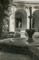 [American Academy in Rome (Rome, Italy). Courtyard and Portico]