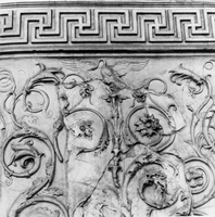 [Ara Pacis: details from the acantus frieze (Rome, Italy)]